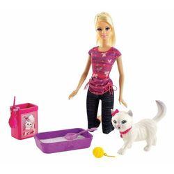 Lalka MATTEL BA Barbie z kotkiem