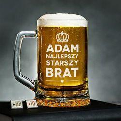 Najlepszy Brat - Personalizowany Kufel - Kufel do piwa