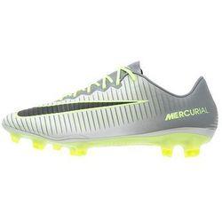 Nike Performance MERCURIAL VAPOR XI FG Korki Lanki gris/vert clair
