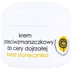 Ziaja - Krem przeciwzmarszczkowy do cery dojrzałej, Kwiat słonecznika, 50 ml
