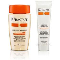 Kerastase Zestaw do włosów suchych: Kąpiel 250 + Nektar Termiczny 150ml(zestaw)
