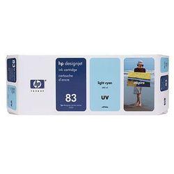 Tusz HP 83 / C4944A Ligh Cyan UV do drukarek (Oryginalny) [680 ml]
