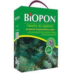 Nawóz do iglaków przeciw brązowieniu igieł Biopon 3 kg