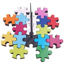Zegar ścienny Do It Yourself Puzzle multi colour by Karlsson