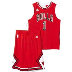 Komplet koszykarski adidas Chicago Bulls Mini Kit Replica Junior AC0552