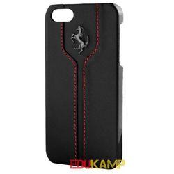 Ferrari Montecarlo Hardcase - Etui skórzane iPhone 5/5S (czarny)