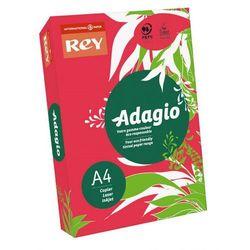 Papier ksero Rey Adagio A4/80g czerwony