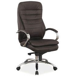 Fotel biurowy Q-154 brązowy