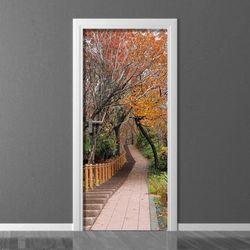 Fototapeta na drzwi jesień w parku P94