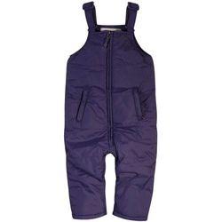 Ocieplane spodnie zimowe dla niemowlaka