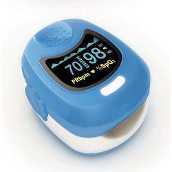 Pulsoksymetr pediatryczny Fingertip Navy CMS 50QB ekran OLED