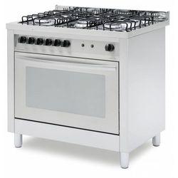 Kuchnia gazowa z piekarnikiem elektrycznym | 5 palników | 900x600x900mm
