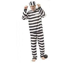 Więzień Jackson - M/L przebrania dla dorosłych