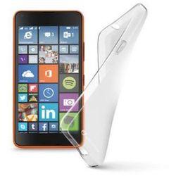 Etui CELLULAR LINE Shape Nokia Lumia 640 Przezroczysty