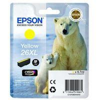 Epson oryginalny ink C13T26344020, T263440, 26XL, yellow, 9,7ml, Epson Expression Premium XP-800, XP-700, XP-600