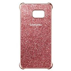 Samsung Glitter Cover do Galaxy S6 Edge Plus różowy