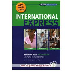 International Express Interactive, Intermediate, Student's Book (podręcznik) with Pocket Book and DVD (opr. miękka)