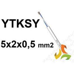 KABEL TELEFONICZNY 5x2x0,5mm2 YTKSY parowany / 100mb