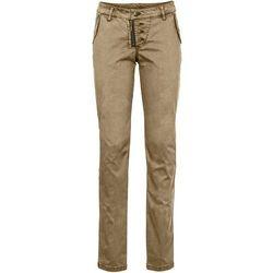 Spodnie bojówki bonprix beżowy