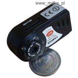 Mini kamera IP Wi-Fi do ukrycia, DZIEŃ/NOC, 1280x720, 4 GB, MINI WI-FI Camera, P2P, Q7