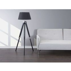 Lampa stojaca czarna - lampa podlogowa - oswietlenie - MADEIRA