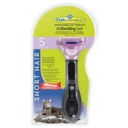 FURMINATOR deShedding roz. S - krótka sierść dla kota + spray zapobiegający powstawaniu kul włosowych