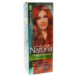 Joanna Naturia Perfect Color Farba do włosów bez amoniaku Ognisty Rudy nr 120