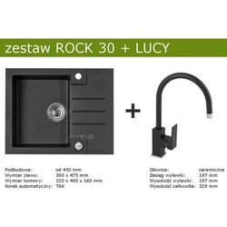 Zestaw ALVEUS ROCK 30 + LUCY (kolor CZARNY)