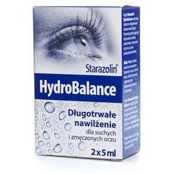 STARAZOLIN HYDROBALANCE Krople do oczu - 2 x 5 ml
