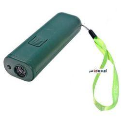 Ultradźwiękowy (kieszonkowy) Odstraszacz Psów + Szkolenie + Latarka LED. Zasięg 7m.