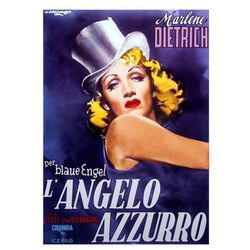 Der Blaue Engel / Błękitny anioł - Marlene Dietrich - plakat