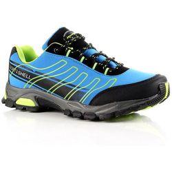 HASBY niebieskie buty trekkingowe damskie wodoodporne - niebieski