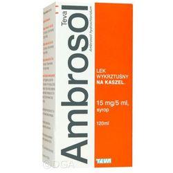Ambrosol PLIVA syrop 0,015 g/5ml 120 ml