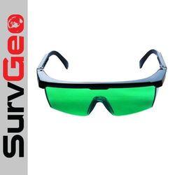 Okulary laserowe do odczytu promienia lasera zielonego