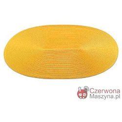 Podkładka na stół Authentics Dot owalna, żółta