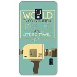 Fantastic Case - LG Swift F6 - etui na telefon - kamera