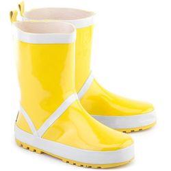 PLAYSHOES Kalosze Żółte - Żółte Gumowe Kalosze Dziecięce - 184310 12