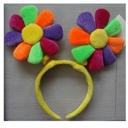 Opaska Kolorowe Kwiatki, przebrania , kostiumy dla dzieci