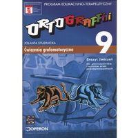 Ortograffiti 9 Zeszyt ćwiczeń Ćwiczenia grafomotoryczne (opr. miękka)
