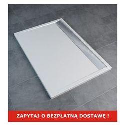 SanSwiss   Ronal Brodzik konglomeratowy prostokątny ILA 90x100 cm WIA 901005004