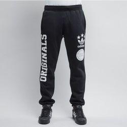 Adidas spodnie dresowe Street Logo black (AB9572)