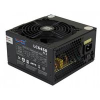 LC-POWER 450w LC6450 V2.2, 120mm, 20/24 pin, PCI-E, 4x SATA 80 PLUS