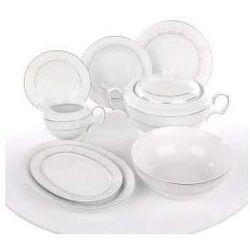 Zestaw obiadowy dla 12 osób porcelana MariaPaula Snow