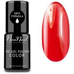Lakier hybrydowy UV NeoNail Coral Red - 6 ml Lakiery hybrydowe NeoNail