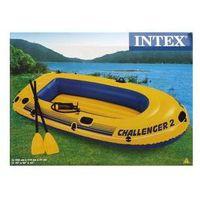 Ponton Intex Challenger 2 set Niebieski/Żółty