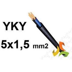 KABEL YKY 5x1,5mm2 0,6/1kV PRZEWÓD ZIEMNY MIEDZIANY