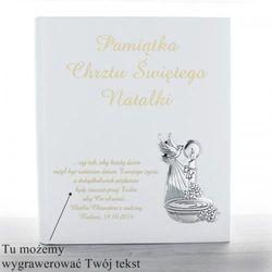 Album na zdjęcia Pamiątka Chrztu Świetego z opcją graweru...