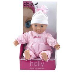 Lalka bobas 20 cm Holly różowa