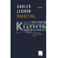 Gabler Lexikon Marketing Bruhn, Manfred