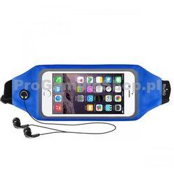 Sportowe Etui na opasek PURO z oknem do Nokia Lumia 720, Blue